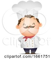 Male Chef Standing Proudly