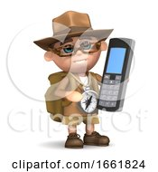 3d Explorer Mobile Phone