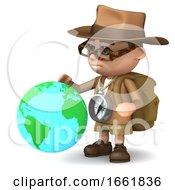 3d Explorer Globe