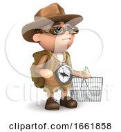 3d Explorer Goes Shopping