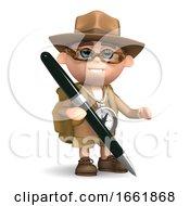 3d Explorer With Pen