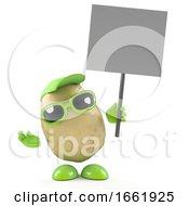 3d Potato Protests