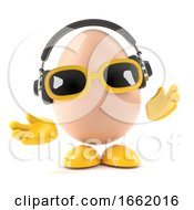 Poster, Art Print Of 3d Egg Music