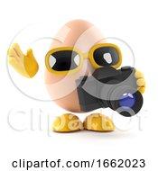 Poster, Art Print Of 3d Photographer Egg