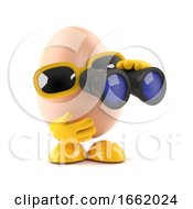 Poster, Art Print Of 3d Spy Egg
