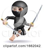 3d Ninja Leaps Into Action