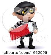 3d Burglar With USB