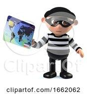 3d Burglar Pays With A Debit Card