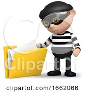 3d Burglar Steals Some Files