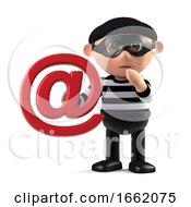 3d Burglar Steals Someones Email Address