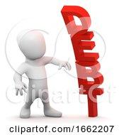 3d Debt Man