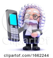 3d Judge And Mobile Phone