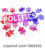 Poster, Art Print Of 3d Jigsaw Puzzle Politics