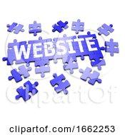 Poster, Art Print Of 3d Website Jigsaw
