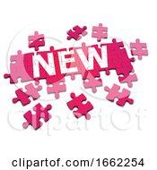 Poster, Art Print Of 3d New Jigsaw
