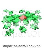 Poster, Art Print Of 3d Housing Problem Jigsaw Puzzle