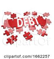 Poster, Art Print Of 3d Debt Jigsaw Puzzle