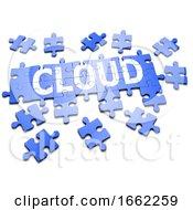 Poster, Art Print Of 3d Cloud Jigsaw