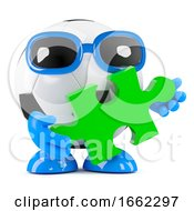 Poster, Art Print Of 3d Football Solution