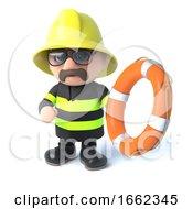 3d Firefighter Offers Life Belt