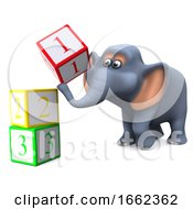 3d Elephant Learns To Count