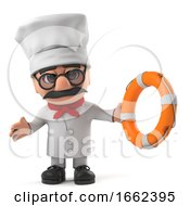 3d Funny Italian Pizza Chef Character Comes To The Rescue
