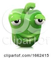 3d Smug Green Pepper