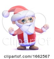 3d Santa Claus by Steve Young