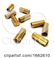 3d Empty Bullet Casings