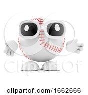 3d Baseball Character