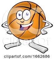 Cartoon Basketball Character