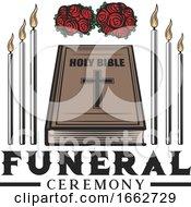 Poster, Art Print Of Memorial Funeral Design