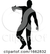 08/12/2019 - Street Dance Dancer Silhouette