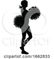 Cheerleader Silhouette