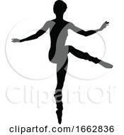 08/12/2019 - Dancing Ballet Dancer Silhouette