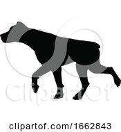08/12/2019 - Dog Silhouette Pet Animal