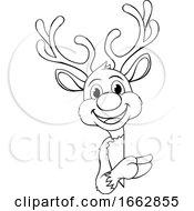 08/12/2019 - Reindeer Christmas Cartoon Character
