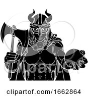 Viking Female Gladiator Baseball Warrior Woman