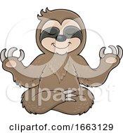 Meditating Sloth