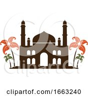 Poster, Art Print Of Indian Mosque