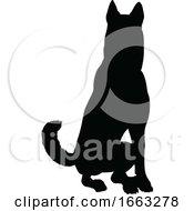 08/18/2019 - Dog Silhouette Pet Animal