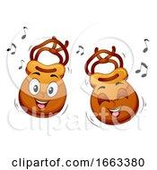 Mascot Castanets Illustration