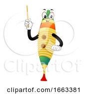 Mascot Guiro Illustration