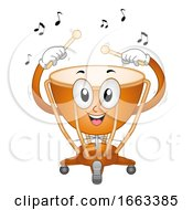 Mascot Timpani Illustration