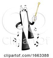 Mascot Agogo Bell Illustration