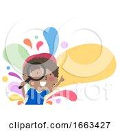 Kid Boy Investigate Illustration
