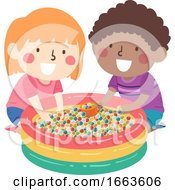 Kids Sensory Water Beads Illustration