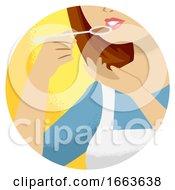 Hand Kitchen Verb Taste Illustration