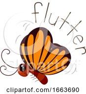 Butterfly Sound Flutter Illustration