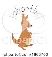 Kangaroo Sound Chortle Illustration